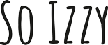 So Izzy Logo
